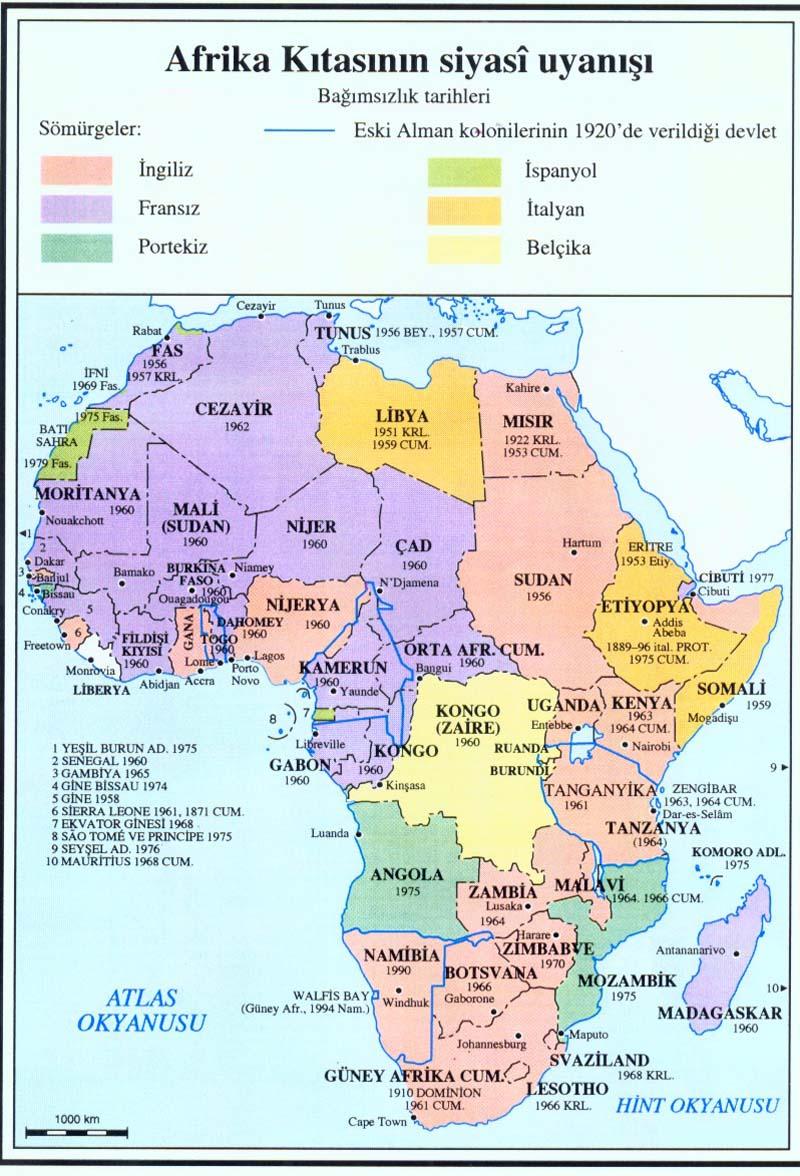Afrika kıtası nın siyasî uyanışı